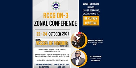 RCCG Ontario-3 Zonal Conference tickets