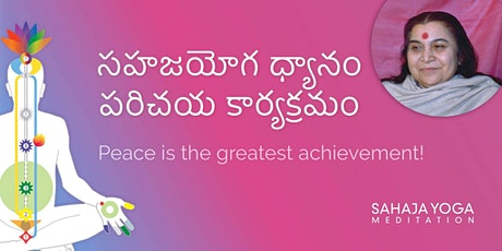 Guided Meditation Classes in Telugu tickets