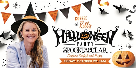 Coffee with Kelly- Halloween Spooktacular! tickets