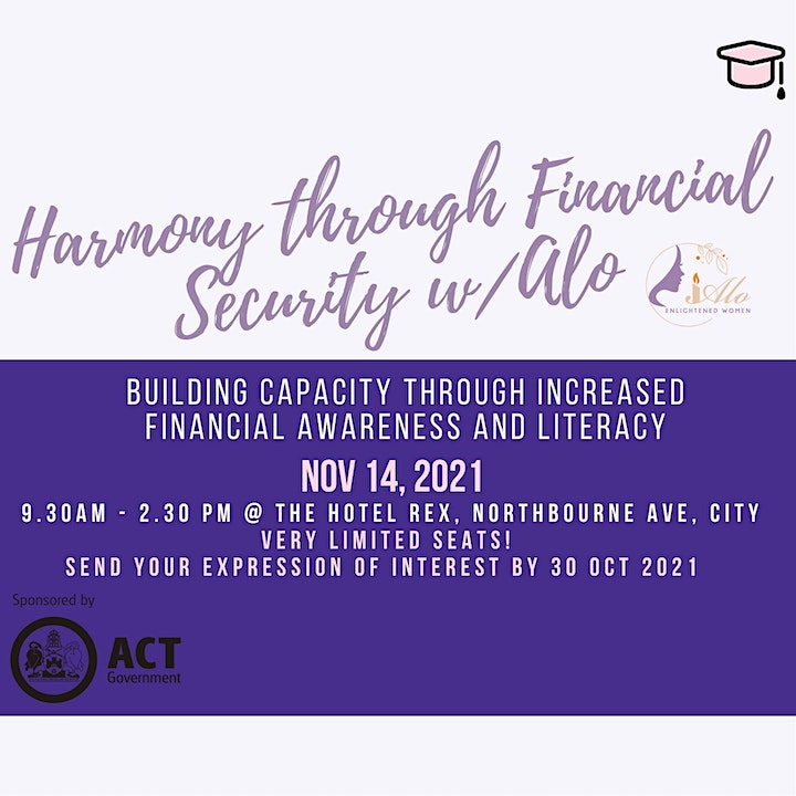 Harmony through Financial Security Workshop image
