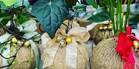 Eden Gardens Creates: Christmas Kokedama class tickets