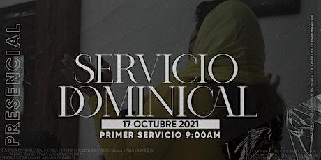 Primer Servicio Dominical entradas