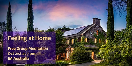 Free Group Meditation - Feeling at Home tickets