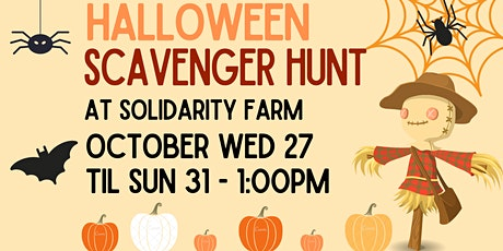 Self-Guided Halloween Scavenger Hunt tickets