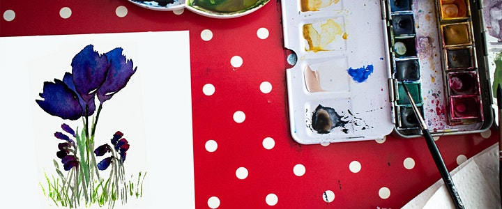 Weekly Monday Afternoon Koha Watercolour Classes with Jo Jago image