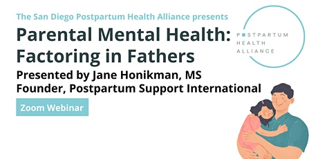 Parental Mental Health: Factoring in Fathers tickets