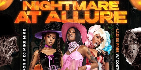 NIGHTMARE AT ALLURE HALLOWEEN PARTY tickets