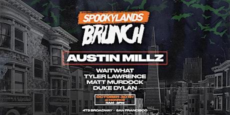 SpookyLands Brunch ft. Austin Millz, Tyler Lawrence, waitwhat & Duke Dylan tickets