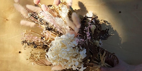 Eden Gardens Creates: A class to create your own dried posey arrangement tickets