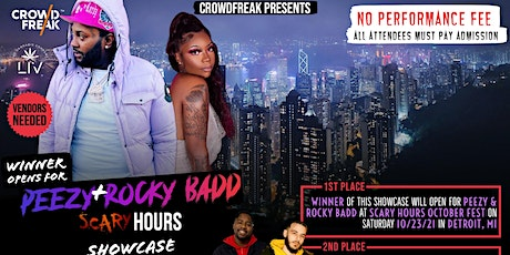 Showcase: Winner Opens up for Peezy and Rocky Badd at Scary Hours tickets