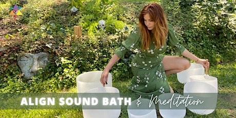 IN PERSON | Align Sound Bath Meditation tickets