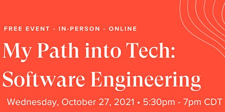 My Path into Tech: Software Engineering tickets