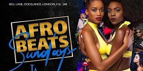 Afrobeats Sundays + Celebrity Guests tickets