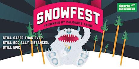 SnowFest 2021 at Sports Basement Berkeley tickets