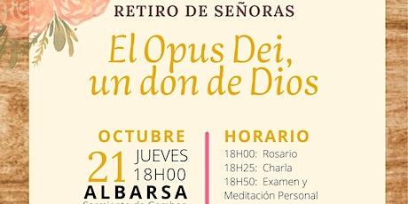 RETIRO MENSUAL DE SEÑORAS - OCTUBRE entradas