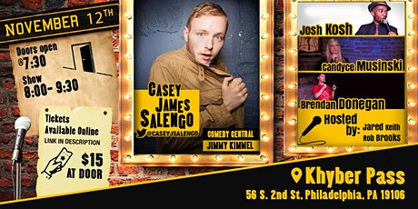 Side Stage Comedy with Casey James Salengo tickets