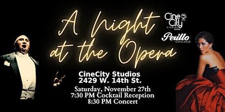 A Night at the Opera hosted by Marisa Buchheit & Benjamin De Los Monteros tickets