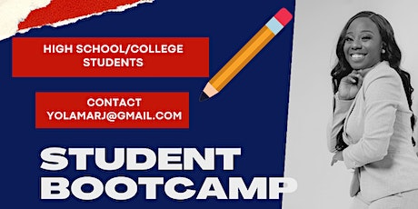Student Bootcamp for Highschool Students & College Students tickets