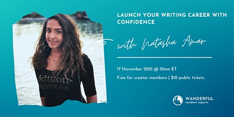 Launch Your Writing Career With Confidence tickets