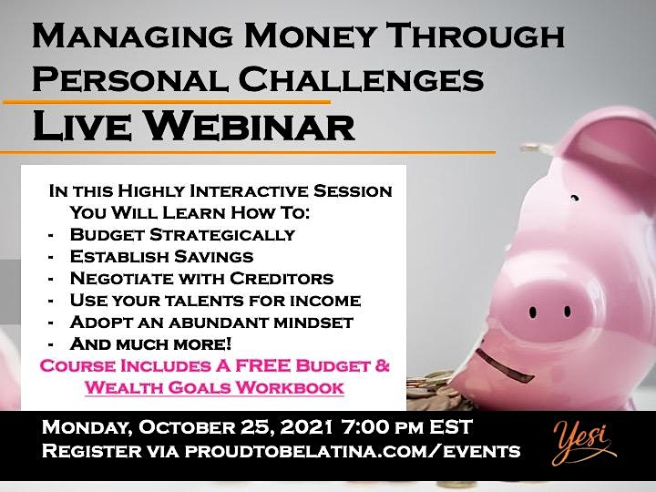 Managing Money Through Personal Challenges image