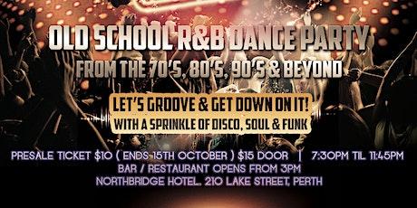 Bump n Grind - Old School R&B Dance Party tickets