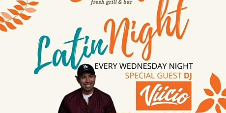 Latin Night every Wednesday on the Fyre Lanai featuring DJ Viicio/Judah! tickets
