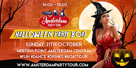 Halloween Party Boat tickets