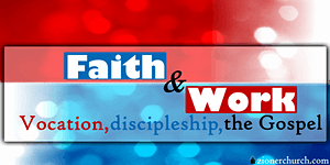 Faith & Work Seminar