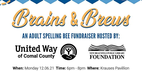 Brains and Brews: An Adult Spelling Bee tickets