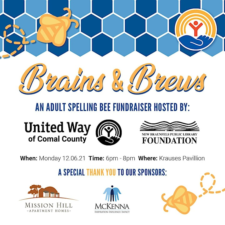 Brains and Brews: An Adult Spelling Bee image