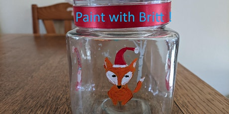 """""""Fox and Gnome"""" Jar Paint Party for adults and kids tickets"""