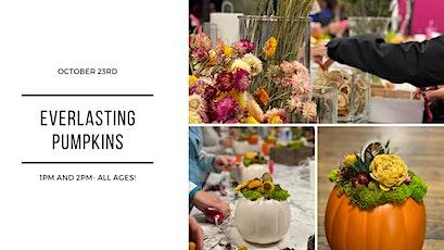 Everlasting Pumpkin Fall Design Class tickets