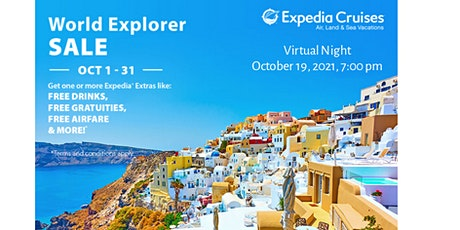 World Explorer  Special Presentation with Mark Bryant of Scenic Cruises entradas
