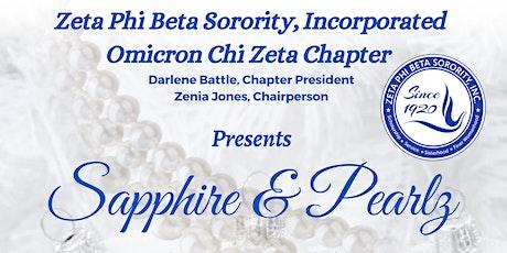 Sapphire & Pearlz - A Royal Celebration tickets