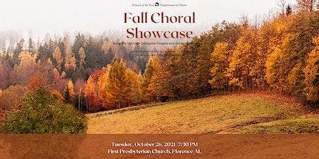 UNA Fall Choral Showcase tickets