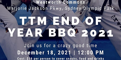 TTM End of Year BBQ 2021 tickets