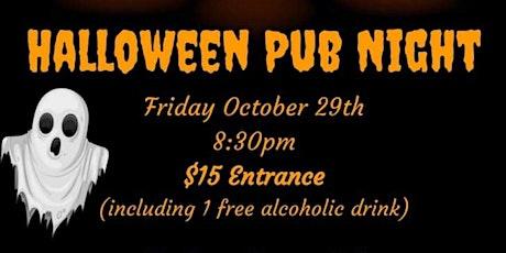 AMSUT Halloween Pub Night @ The Maddison Avenue Pub tickets