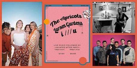 The Apricots, Larsen Gardens, i /// u  @FREMONT ABBEY tickets