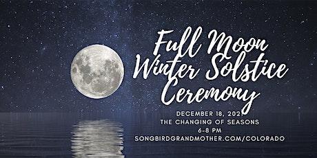 Full Moon Solstice Ceremony tickets