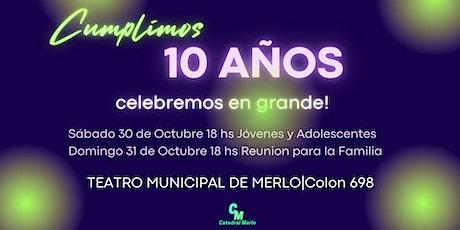 Catedral Kids Aniversario DOMINGO 31/10 18HS entradas