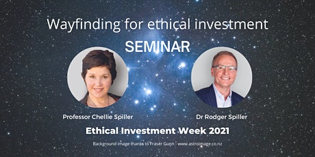 Wayfinding for Ethical Investment tickets