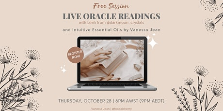 Gaia's Gifts - Live Oracle Reading + Intuitive Essential Oils tickets