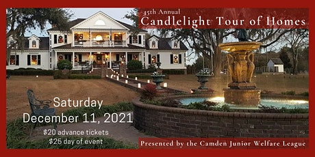 45th Candlelight Tour of Homes tickets