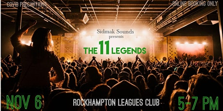 The 11 Legends 2.0 tickets