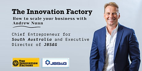 How to Scale your business with Andrew Nunn tickets