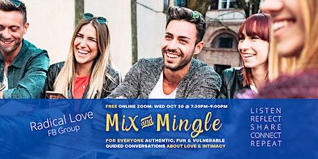 MIX & MINGLE EVENING - Radical Love Group tickets
