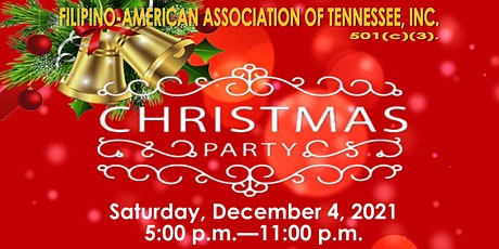 Filipino-American Association of Tennessee -   Christmas Party 2021 tickets