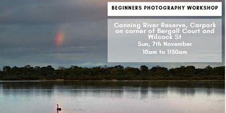 Photography Beginner Workshop - Canning River Reserve tickets