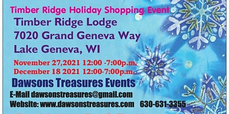 Holiday Shopping Event at Timber Ridge tickets