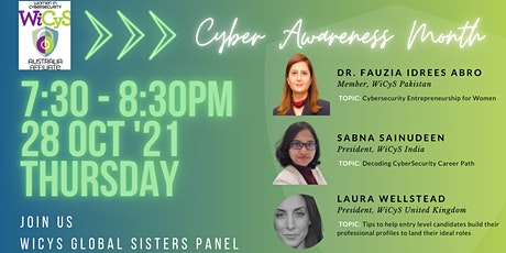 WiCyS Global Sisters Panel tickets